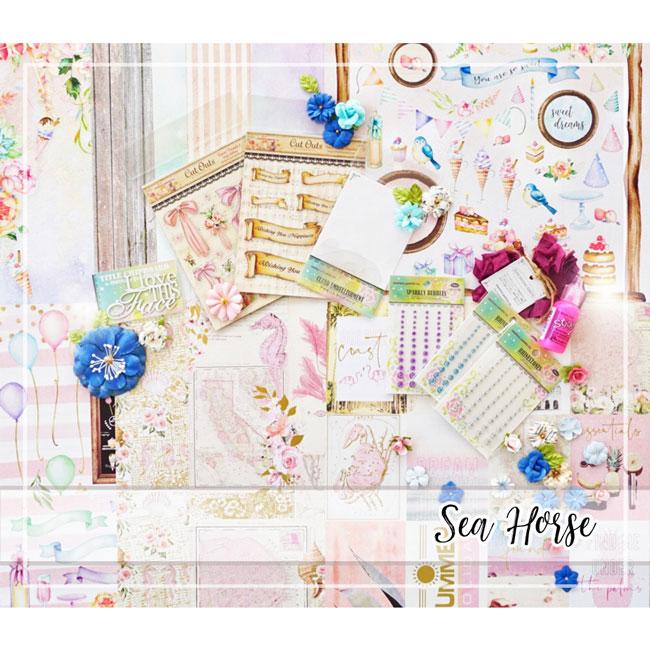 Happy New Home!スペシャル★セレクトセットby Tomoko Takahashi【SEA HORSE】