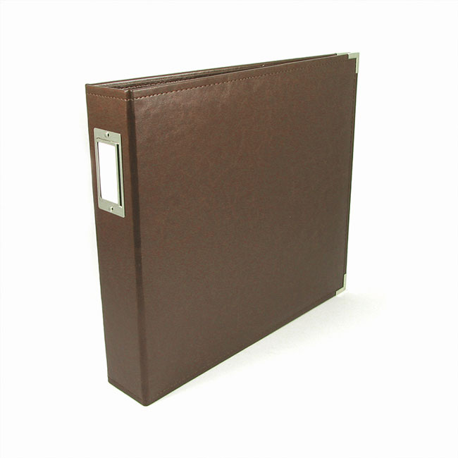 WRMK-660909 12x12 Ring Album Dark Chocolate