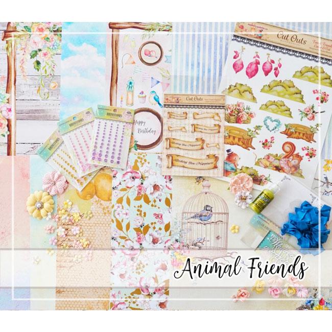 Happy New Home!スペシャル★セレクトセットby Tomoko Takahashi【ANIMAL FRIENDS】
