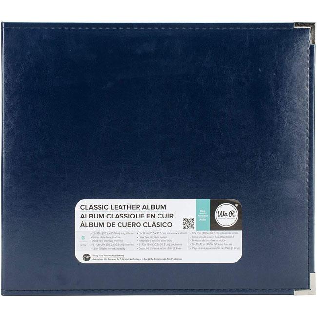 WRMK-660918 12x12 Ring Album Navy