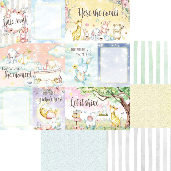 MP-60475 Dreamland 4x6 Journaling Cards Collection Pack