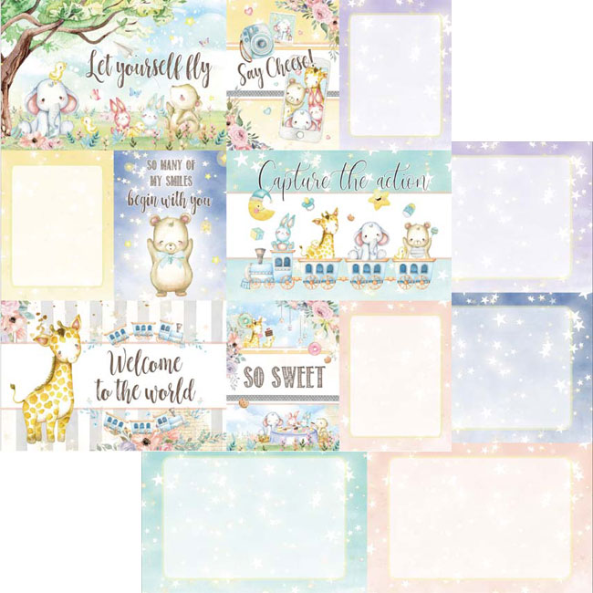 MP-60476 Dreamland 4x6 Journaling Cards 1