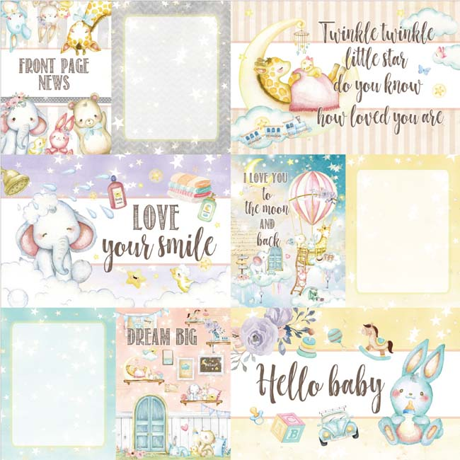 MP-60477 Dreamland 4x6 Journaling Cards 2