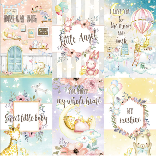 MP-60479 Dreamland 4x6 Journaling Cards 4