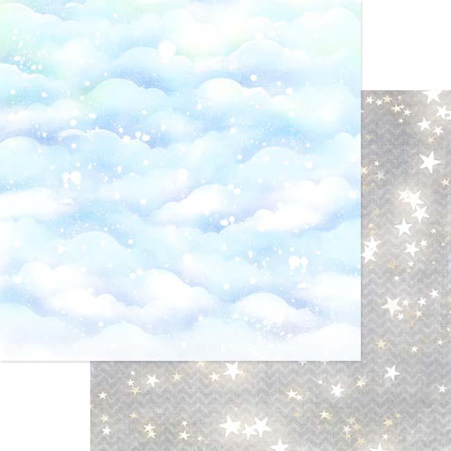 MP-60454 12x12 Silver Sparkly Sky