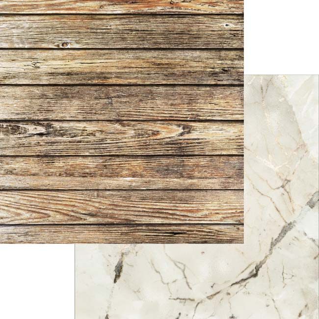 MP-60510 Weathered Wood & Crystals 6x6 Collection Pack