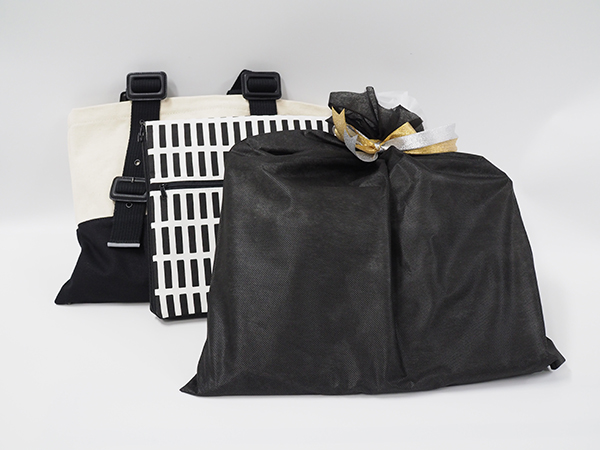 【ギフトラッピング】me-posi ツーウェイトートバッグ &  防災頭巾になるクラッチバッグのセット