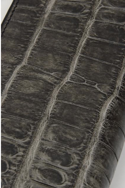 vermilion(バーミリオン) CROCO ROUNDFASTNER LONG WALLET
