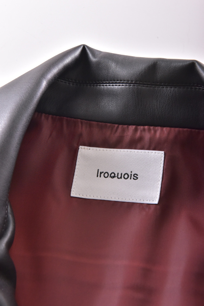 Iroquois(イロコイ) SYNTHETIC LEATHER BL