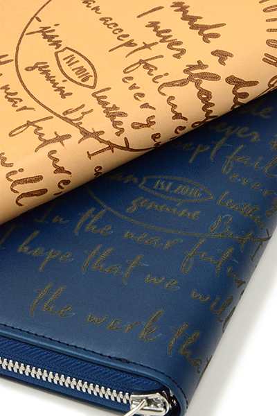 RESOUND CLOTHING(リサウンドクロージング) Buttero Leather calligraphy wallet