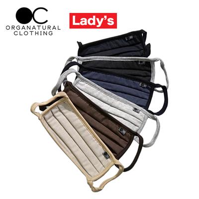 ORGANATURAL CLOTHING(オーガナチュラルクロージング)  レディース無地 マスク