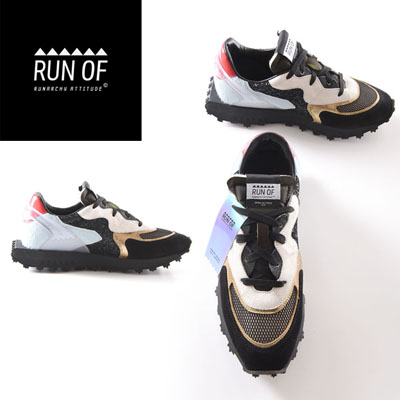 RUN OF(ランオブ) BLACK GOLDIE 【RUN02】