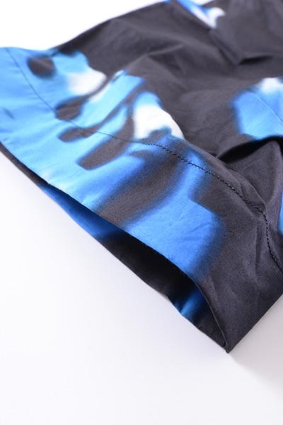 MSGM(エムエスジーエム) SHIRT BLUE