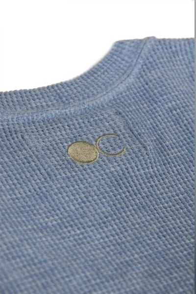 ORGANATURAL CLOTHING(オーガナチュラルクロージング) SHORT SLEEVE CUT & SEWN ワッフル