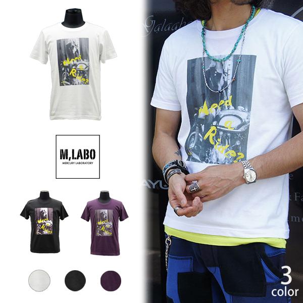M.LABO Tシャツ need a ride