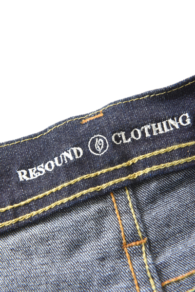 9/4 再入荷! RESOUND CLOTHING(リサウンドクロージング) LOAD DENIM INDIGO SOLID