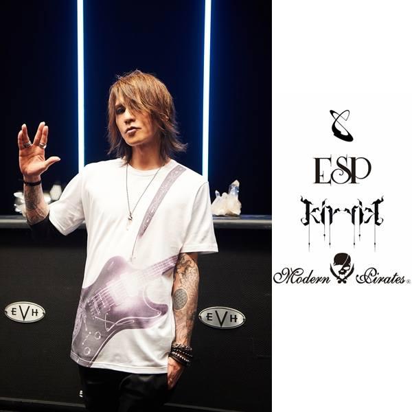【11月入荷予定】kiryuyrik(キリュウキリュウ) SGZ×ESP×kiryuyrik Tシャツ