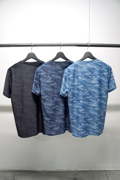RESOUND CLOTHING(リサウンドクロージング) camouflage DENIM RUSH TEE
