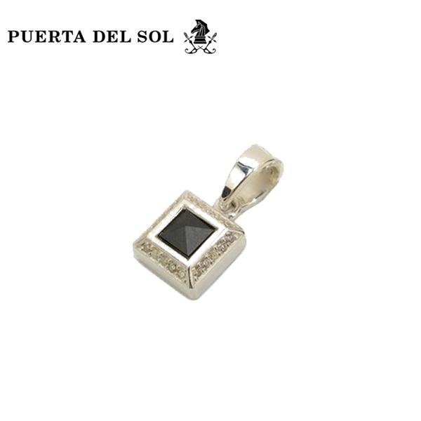 PUERTA DEL SOL(プエルタデルソル) ヘマタイトスタッズペンダント