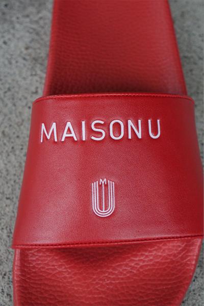 Maison U(メゾンユー) SLIDER SANDALL