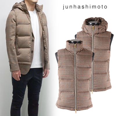 junhashimoto(ジュンハシモト)  3WAY DOWN VEST