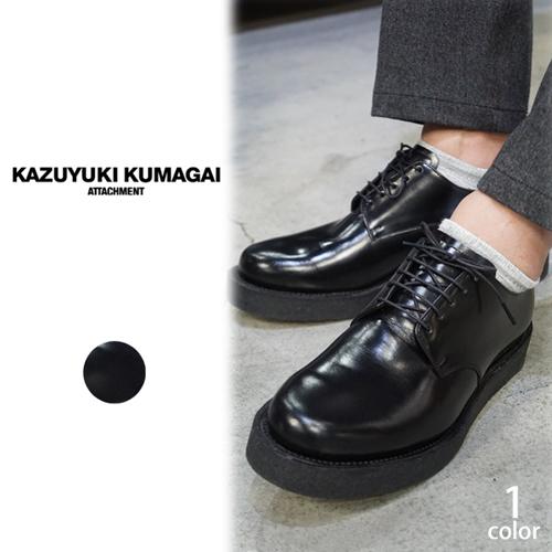 KAZUYUKI KUMAGAI(カズユキクマガイ) ダービーラバーソールシューズ