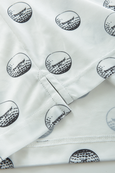 1PIU1UGUALE3 GOLF(ウノピュウノウグァーレトレ ゴルフ) S/S POLO GOLF BALL