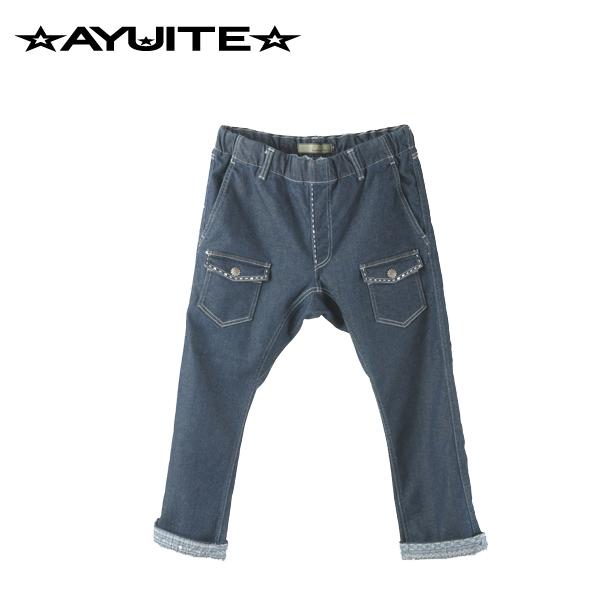 AYUITE(アユイテ) ソフトストレッチクロップドイージーブッシュパンツ OW+ハンドステッチ(MERCURY別注)