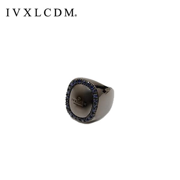 IVXLCDM(アイブイエックスエルシーディーエム) OVAL LINESTON RING