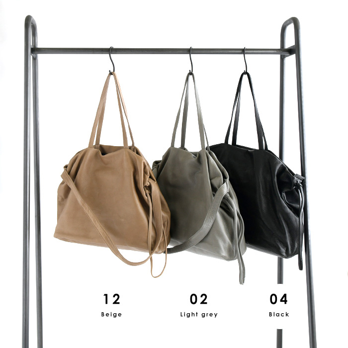 Ampersand アンパサンド<br>ソフトレザートートバッグ<2WAY SOFT TOTE BAG><br>(91AS-0218-306)[SO]