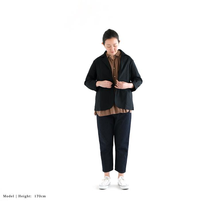 MARINEDAY マリンデイ<br>リネンコットン テーラードジャケット<br>(91MD-BLANC-101)(2019132)[SO]