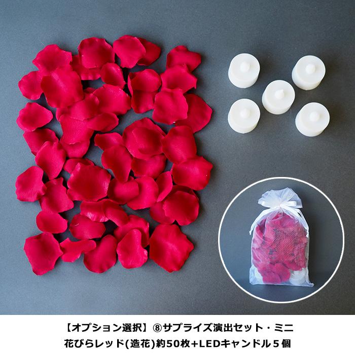 バラ花プレゼント 誕生石のオプション