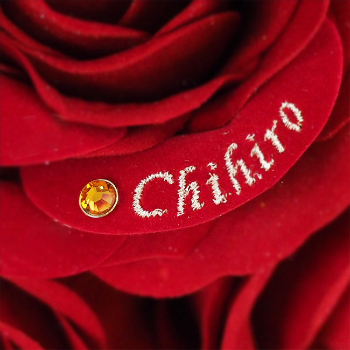【バラの中にプレゼント演出】アイプリモコラボ・かくれんぼフラワー