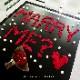 メッセージローズ人気No.1赤バラ(バラと花瓶のセットギフト)【プロポーズ・誕生日・記念日】