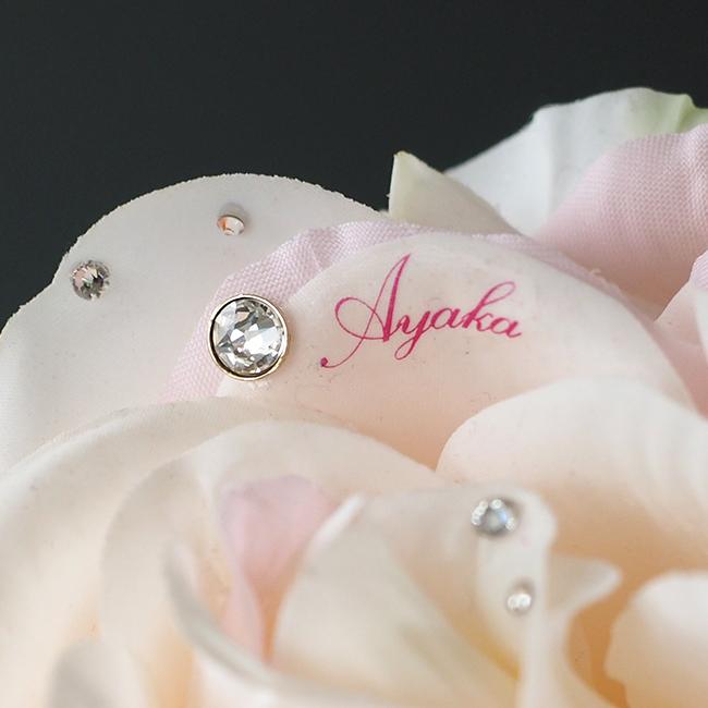 メッセージローズ・ピンクバラ(バラと花瓶とハンドクリームのセットギフト)【誕生日・記念日】