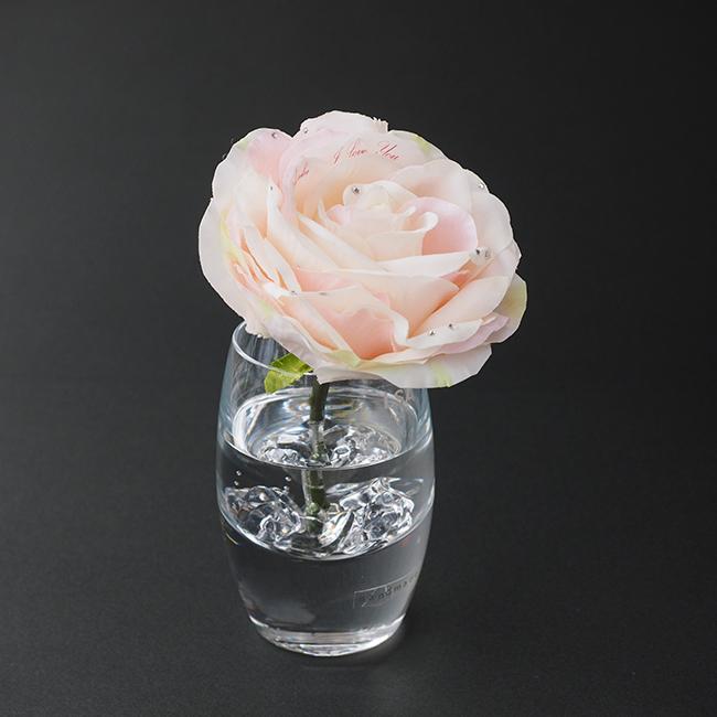 【誕生日・記念日】メッセージフラワーピンクバラ(花&ギフトセット)