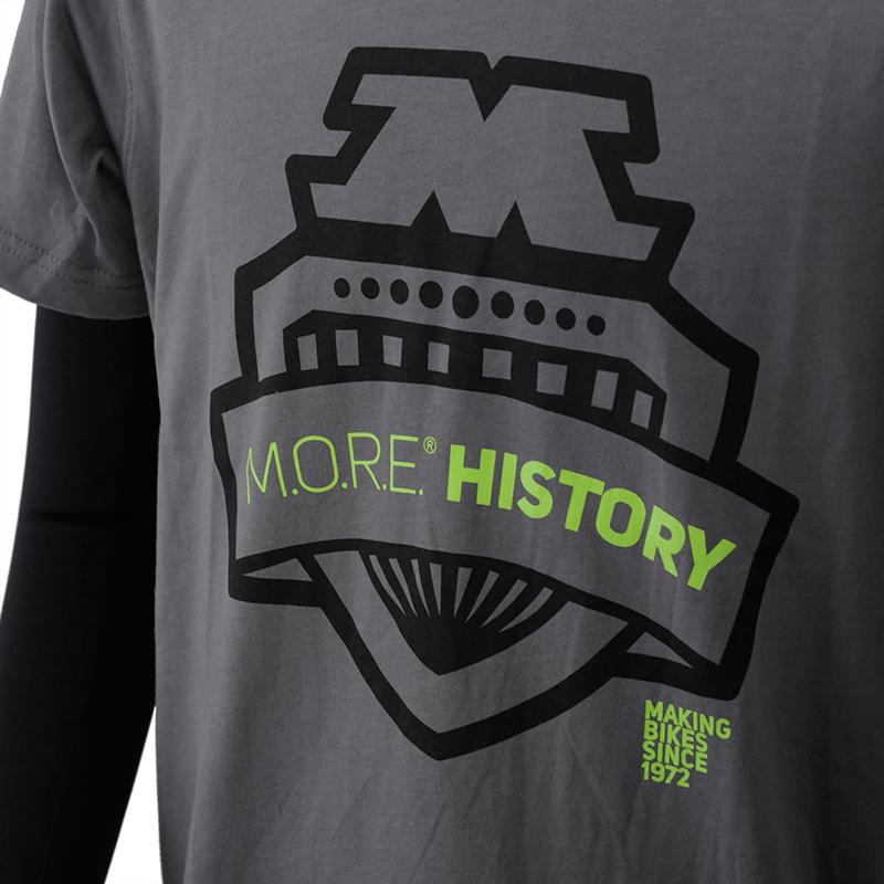 Tシャツ MORE HISTORY