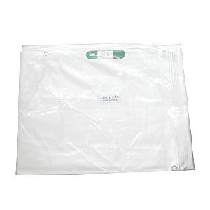 【2枚セット】白防炎シート 5.4m x 7.2m (P450)