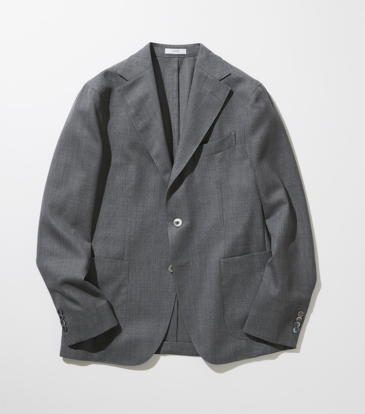 BOGLIOLI(ボリオリ)ウールホップサック DOVER ジャケット