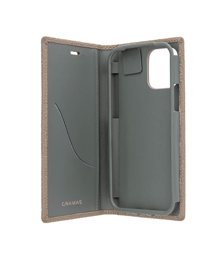 "GRAMAS(グラマス)Shrunken-calf Leather Book Case for New iPhone 6.1""GB"