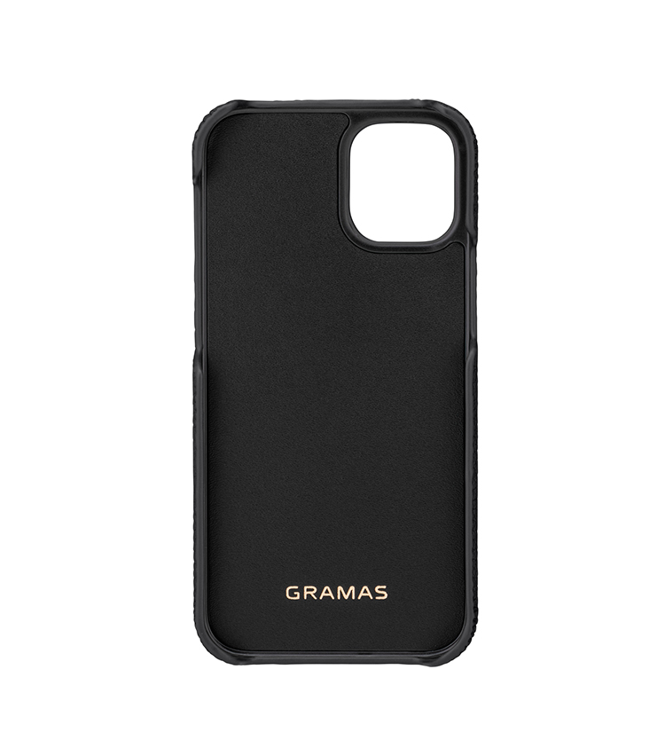 """GRAMAS(グラマス)Shrunken-calf Leather Shell Case for New iPhone 5.4"""" GS"""