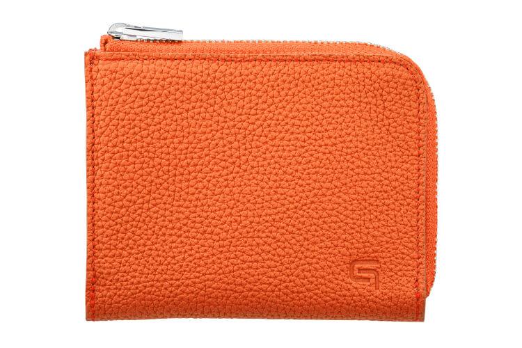 GRAMAS(グラマス)German Shrunken-calf  L Shaped Zipper mini Wallet Ver.2