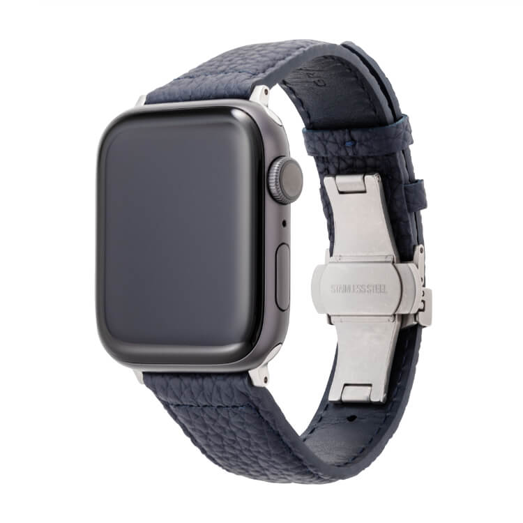 GRAMAS(グラマス)German Shrunken-calf Watchband for Apple Watch-44/42mm