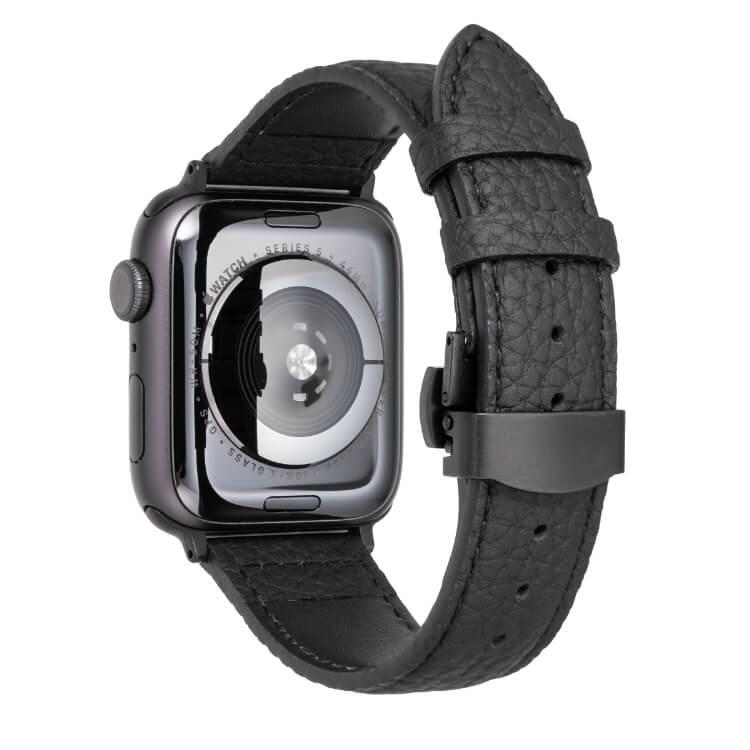 GRAMAS(グラマス)German Shrunken-calf Watchband for Apple Watch-44/42mm
