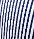 SONRISA(ソンリーサ)ストライププリントジャージーシャツ
