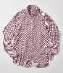 SONRISA(ソンリーサ)リングプリントジャージーシャツ