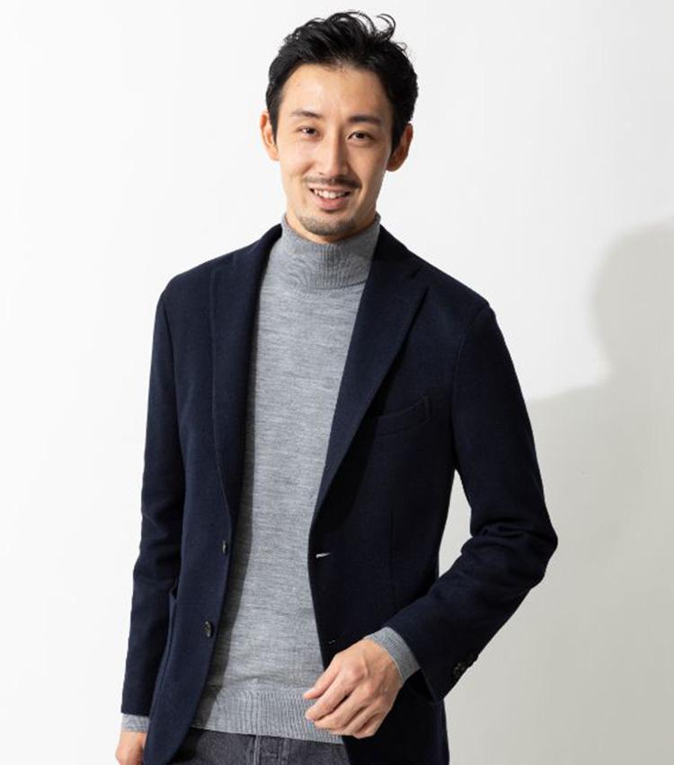 BOGLIOLI(ボリオリ)ウールナイロン ジャージー Kジャケット