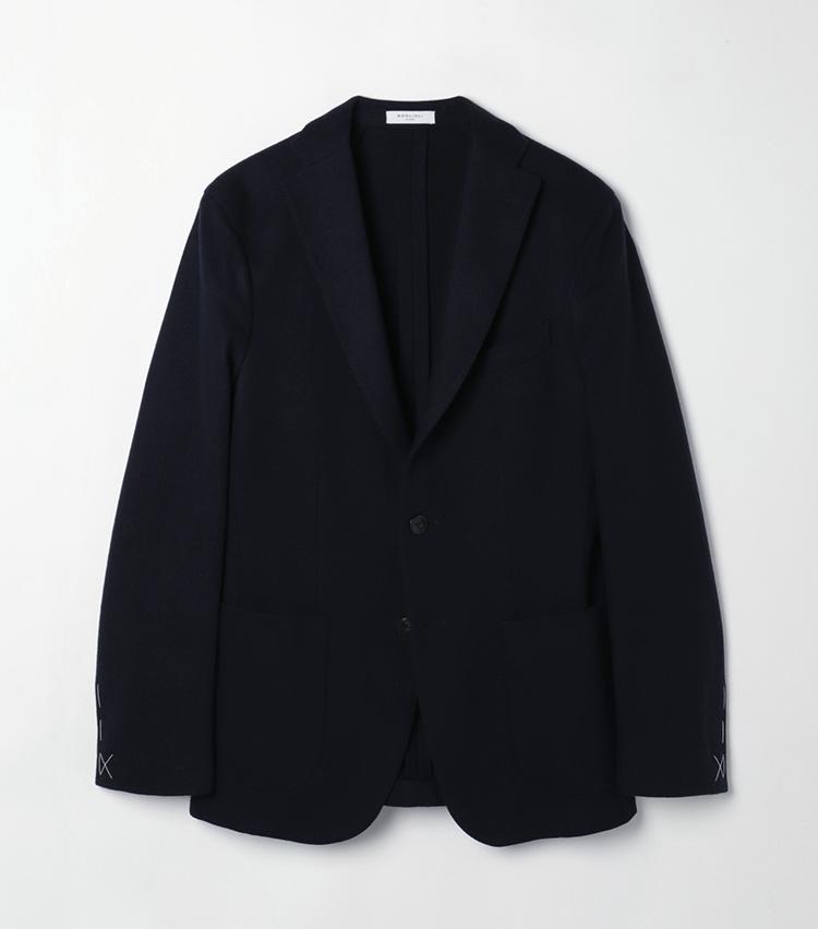 ウールナイロン ジャージー Kジャケット