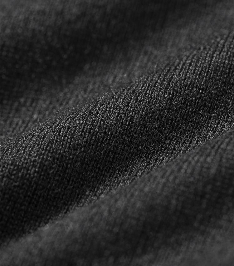CASSY(キャシー)シルクカシミアヘンリーネック半袖