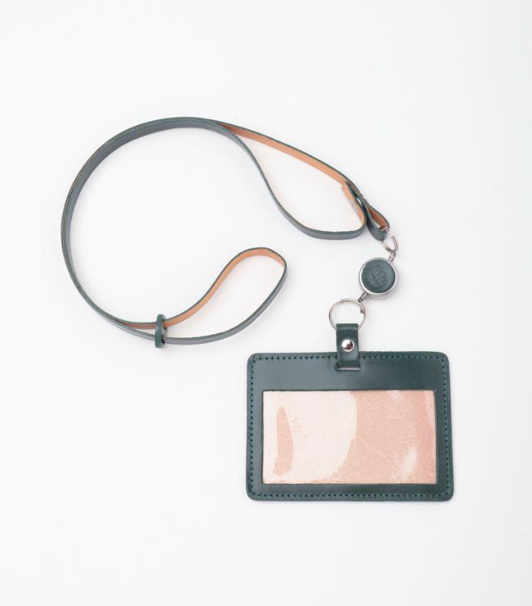 GLENROYAL(グレンロイヤル)ID CASE WITH REEL STRAP